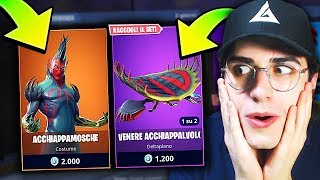 SHOPPO NUOVA SKIN PIANTA! BUG REALE Fortnite Mobile