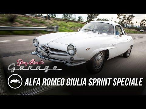 1965 Alfa Romeo Giulia Sprint Speciale - Jay Leno's Garage
