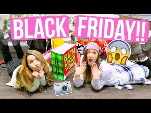 BLACK FRIDAY SHOPPING VLOG!!! Alisha Marie