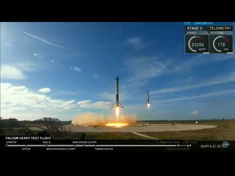 SpaceX FakeX Take Two! They reshot Livestream CGI rocket duo landing!