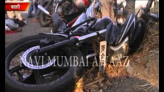 navi mumbai awaaz 1 killed in accident on sion panvel flyover