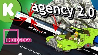 "Agency 2.0 - The ""Crowdfunding Scam"" PR Firm!!"