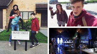 YOUTUBERS AT HARRY POTTER STUDIOS