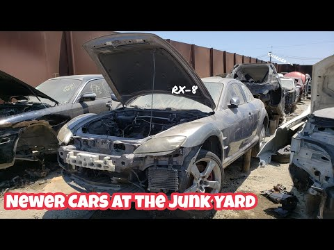 Where To Pick Newer Cars At The Junk Yard