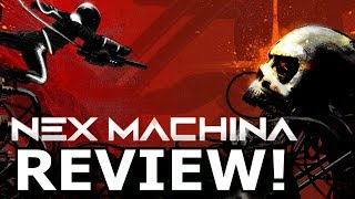 Nex Machina Review! Super HARD Retro Action? (PS4)