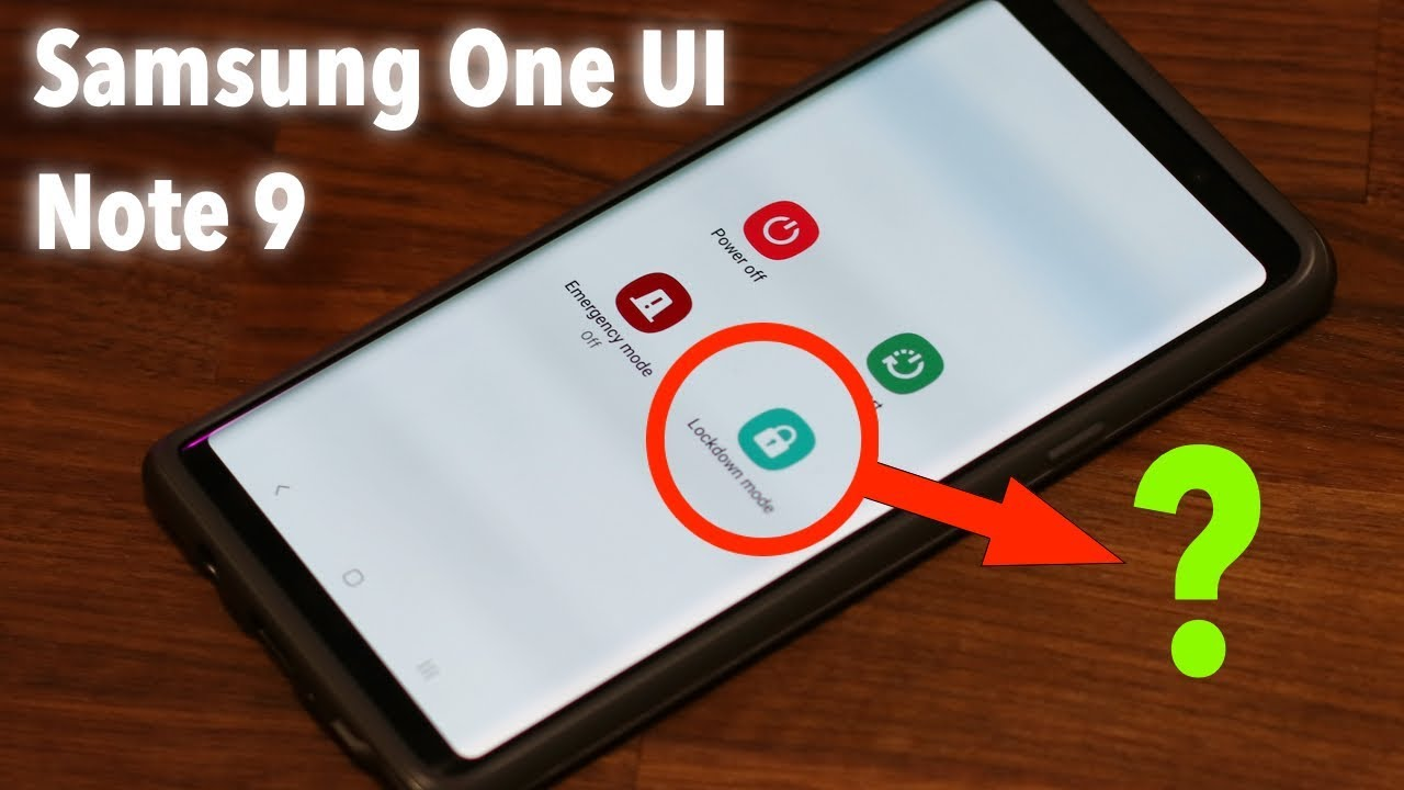 Galaxy Note 9 - Samsung One Ui w/ Android 9 0 Pie - New Features Discovered