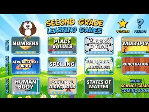 Second Grade Learning Games Free Apps On Google Play