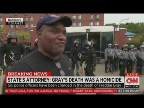 Marine reacts to 6 Baltimore Cops being indicted for the murder of Freddie Gray !