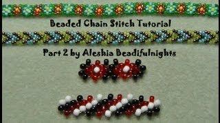 Beaded Chain Stitch Tutorial Part 2