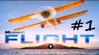 Microsoft Flight- Walkthrough Gameplay Part 1 (pc) HD