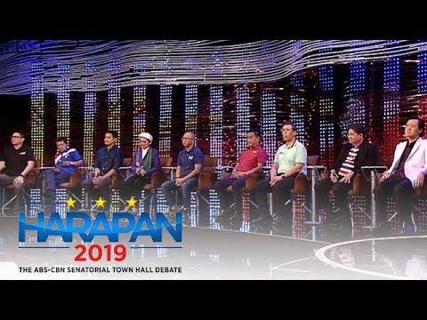 Siyam na senatoriables sumalang sa #Harapan2019 | 17 Peb 2019