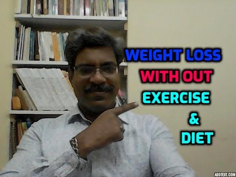 how to lose weight fast without exercise I English