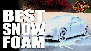 Mystic Snow Foam Car Wash - Epic Foam Cannon - Masterson's Car Care