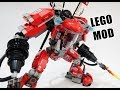 Lego Ninjago Movie Fire Mech Mod Set 70615