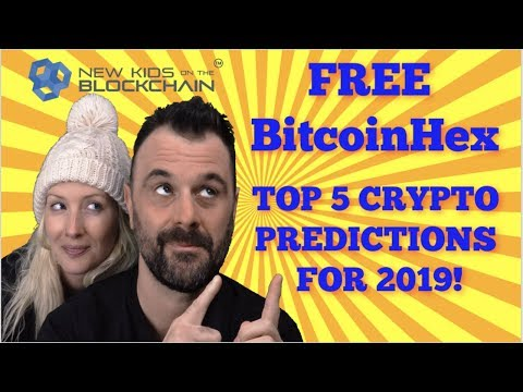 CRYPTO PREDICTIONS 2019 | FREE BITCOIN HEX | TRON DEVELOPMEN