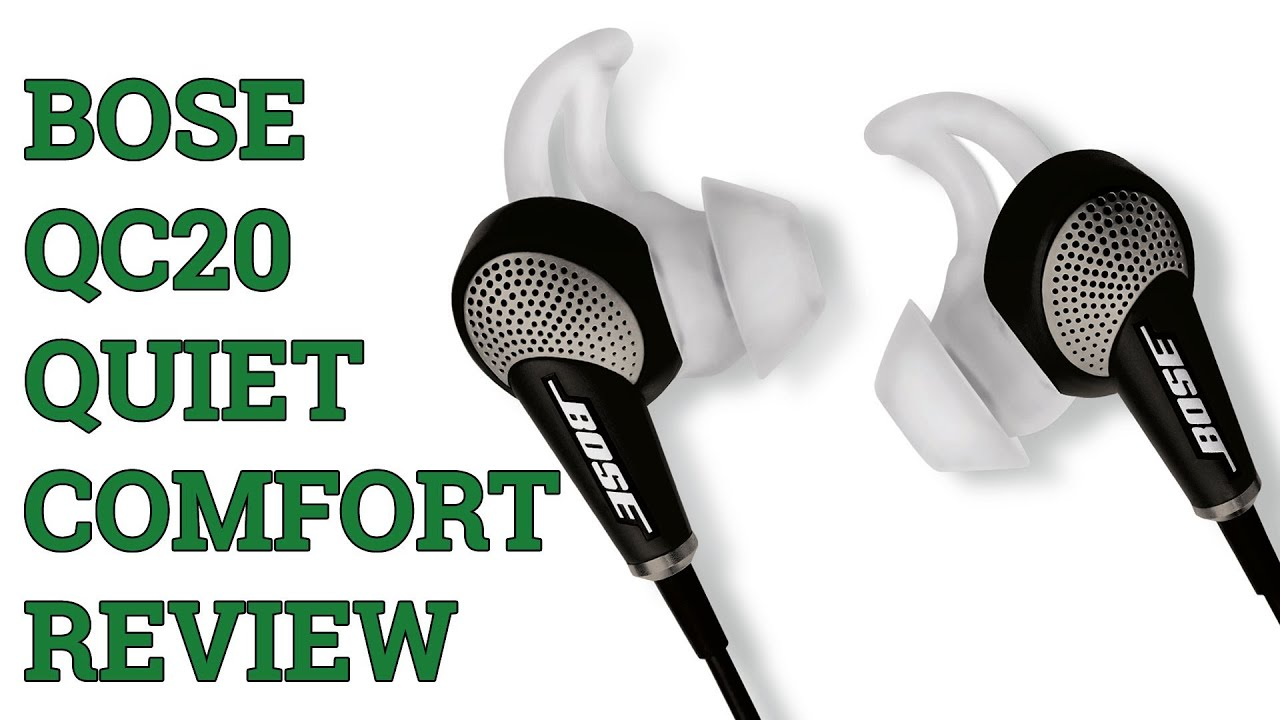 Bose QuietComfort 20 (QC20) Headphones Review!