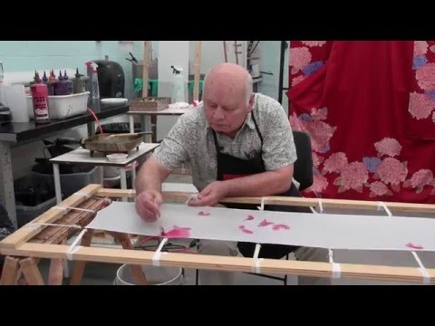 Japanese Bokashi Brush Dyeing Workshop with Bill Morton