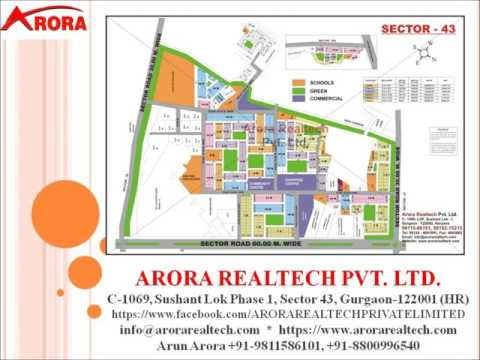 10 MARLA/263 SQUARE YARDS PLOT AVAILABLE FOR SALE IN SECTOR 43 GURGAON