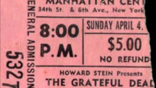 Grateful Dead - Casey Jones 4-4-71