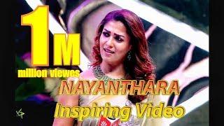 Ladysuperstar Nayanthara Inspiring