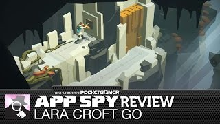 RISE OF THE PUZZLE SOLVER | Lara Croft GO iOS / Android review