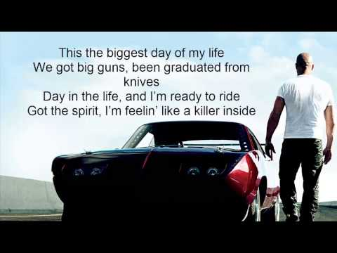 Fast & Furious 6 : We Own It Ft.2 Chainz & Wiz Khalifa [Lyrics On Screen]