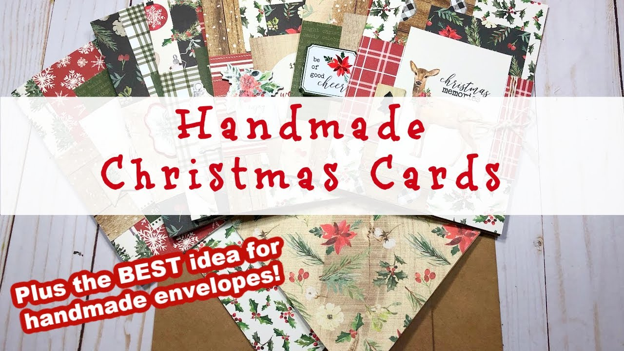 Make ALL your Christmas Cards • Simple process…plus a bonus idea! | Christmas in July
