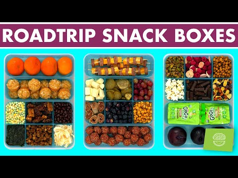 Healthy Road Trip Snacks | DIY Summer Snack Packs for Travel / Family Vacation!
