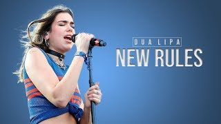 New Rules - Dua Lipa (Rock Cover by First To Eleven feat  Addie from Halocene) Lyric