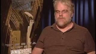 PHILIP SEYMOUR HOFFMAN ANS SYNECDOCHE INTERVIEW