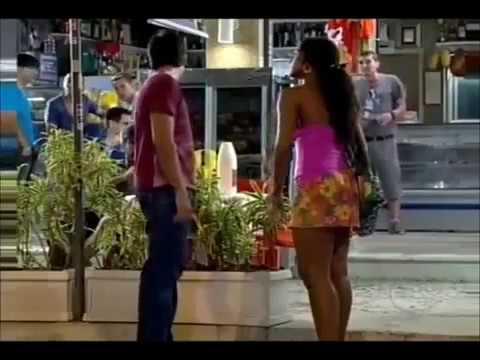 Fina Estampa vs Marido en Alquiler-Dagmar/Clara cachetea Leandro/Leonardo (Telemundo/Globo)