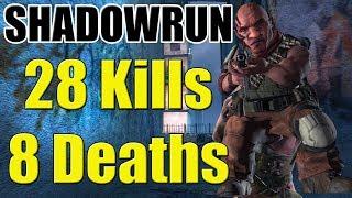 Shadowrun Xbox 360 Gameplay Poco 28 Kills 8 Deaths