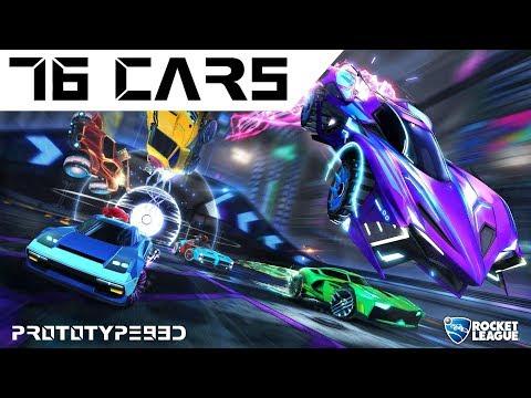 Rocket League - All 76 Cars
