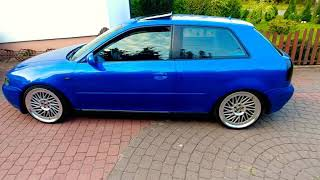 Audi A3 8L (Subaru Blue Mica color) Japan Racing 27
