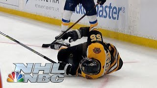 Missed call in Game 5 that leads to Blues goal a 'disaster' | NHL | NBC Sports