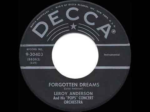 1954/57 Leroy Anderson - Forgotten Dreams (original version)