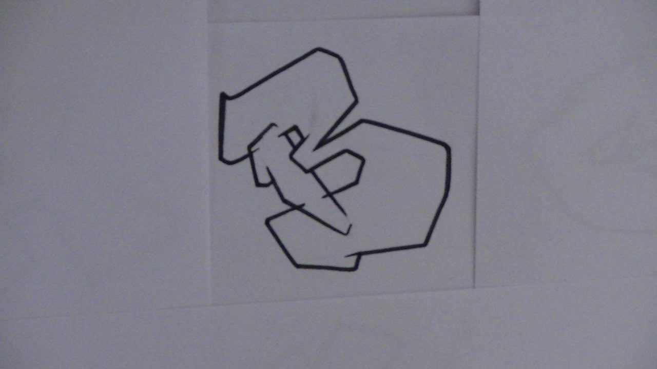 GRAFFITI ALPHABET N8 Semi Complex Block Letters HD 1080