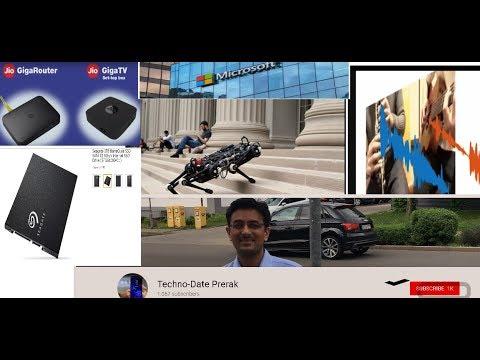 Tech News #5 MIT Cheetah 3 Robot Machine Learning AI Pixelplayer Jio fiber Seagate Barracuda SSDs