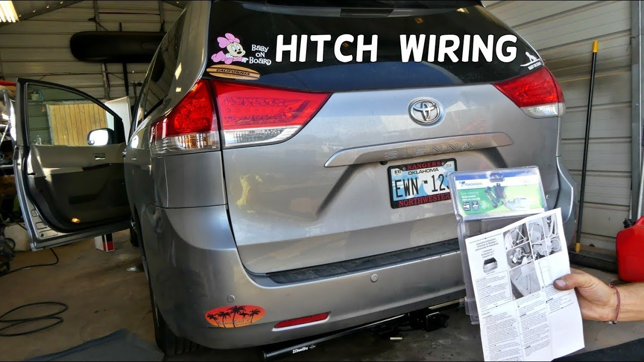 Sienna Towing Wire Harness Get Free Image About Wiring Diagram
