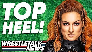 SHOCK WWE Becky Lynch Plan Adam Cole FINISHED WWE 2K22 HEAT NXT TakeOver 36 Wrestling News