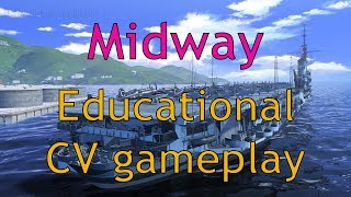 World of Warships: Midway - The most educational CV game