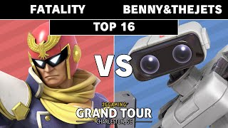 2GG Grand Tour SC - OES Benny&TheJets (ROB) VS RCS Fatality (Captain Falcon) Smash Ultimate - Top 16