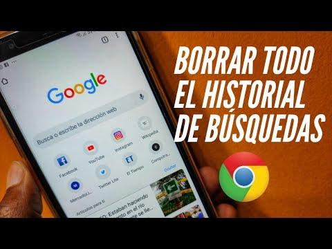 Cómo Borrar Todo El Historial De Google Chrome En El Celular