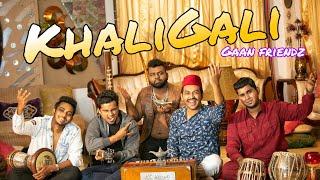 GAAN FRIENDZ- KHALI GALI | Tamim | Shouvik | Ninad | Priom | Anik | Sharmin