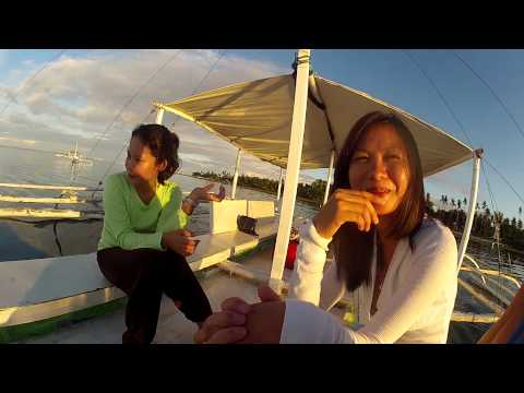 TWO HOT PHILIPPINOS AT SUNRISE  ON A PUMP BOAT BOHOL PHILIPPINES a RABBI JEW BARKER PRODUCTION GOPR1