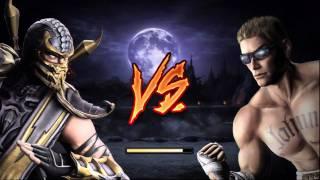 Mortal Kombat 9 Демо Scorpion
