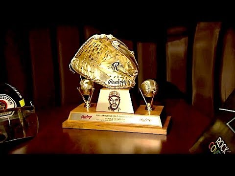 No Love for the Gold Glove? Breaking Down Harold Reynolds' Chintzy Trophy   The Dan Patrick Show