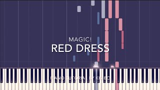 MAGIC! - Red Dress (Piano Tutorial + Sheets)
