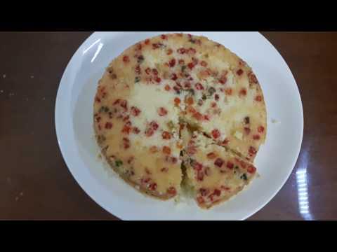 Basic Sponge Cake  Using Microwave Oven