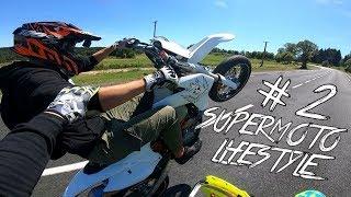 MA PREMIERE BAVETTE ! SUPERMOTO LIFESTYLE #2